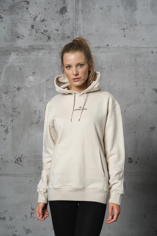 CPH Hoodie 1 org. cotton ivory white - alternative 1